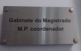 Gabinete do Magistrado MºPº Coordenador